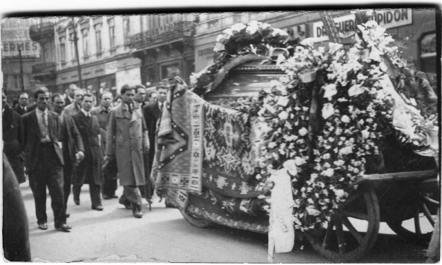 The funeral of Queen Marie of Romania